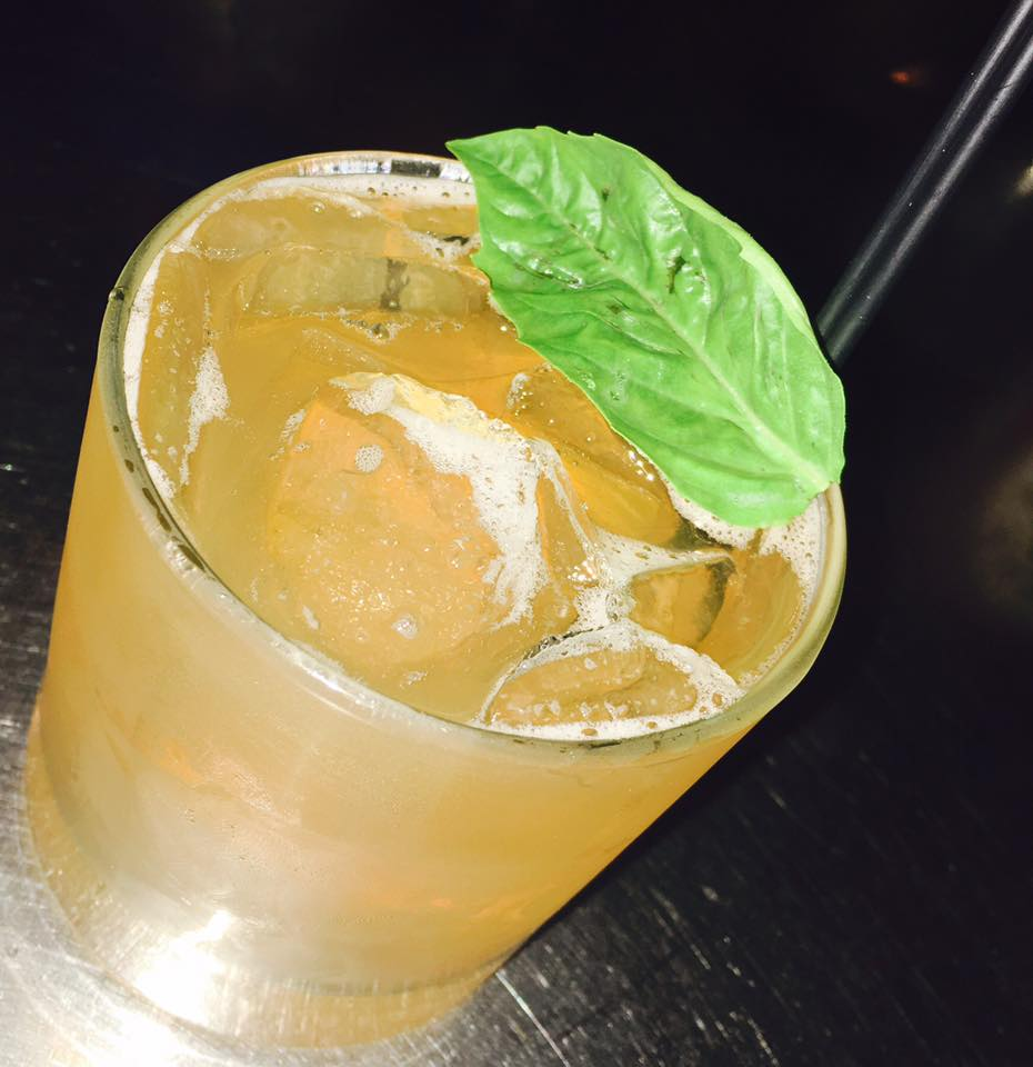 Bulleit bourbon, fresh basil, honey and grapefruit juice!